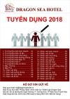 Dragon sea hotel Tuyen dung 2018